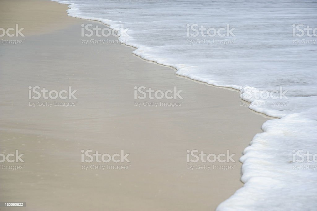 Beach Surf royalty-free stock photo