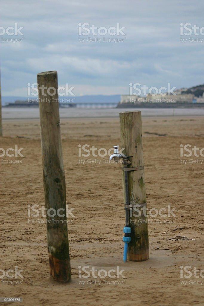 Beach Tap royalty-free stock photo