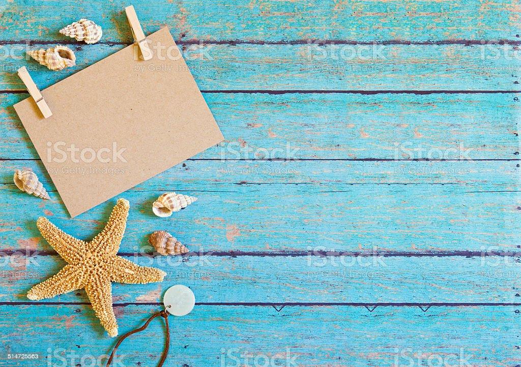 Beach theme natural background stock photo