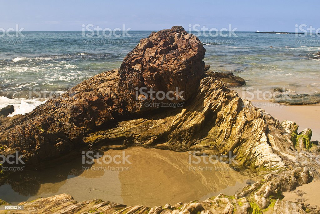 Beach Tide Pool royalty-free stock photo