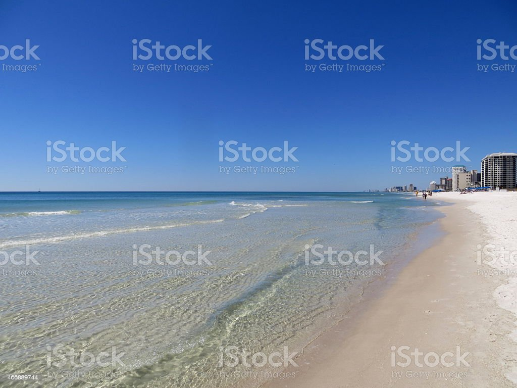 Beach Time March 7 2015 stock photo