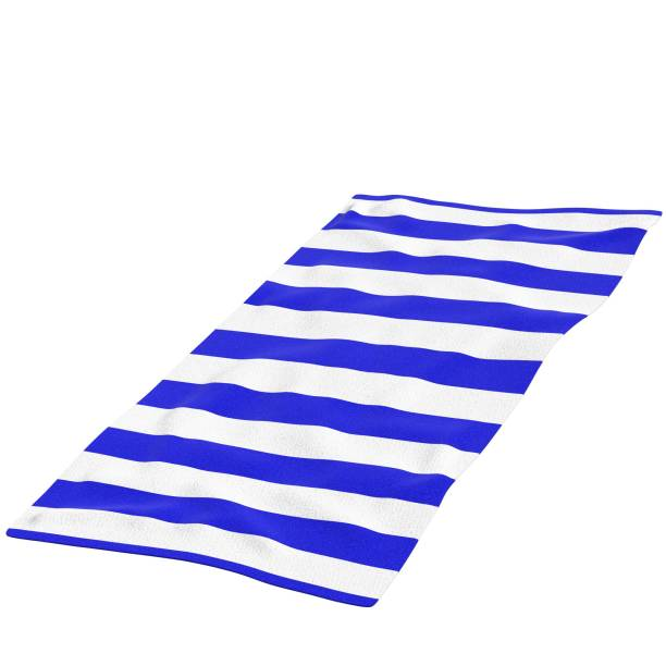 Beach towel - foto stock