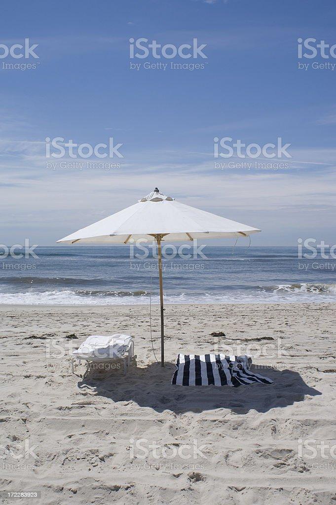 beach towel royalty-free stock photo