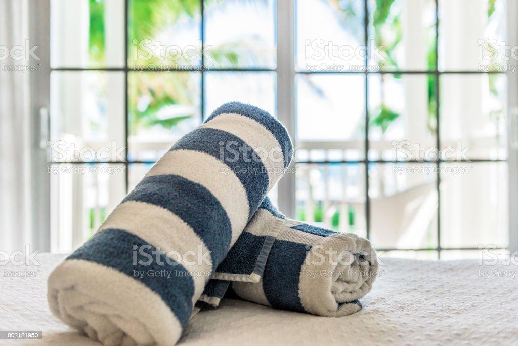 Beach Towels stock photo