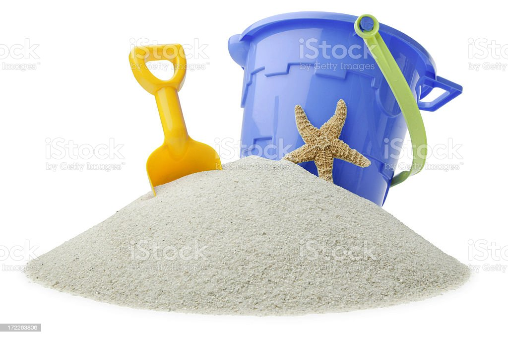 Beach Toys stock photo