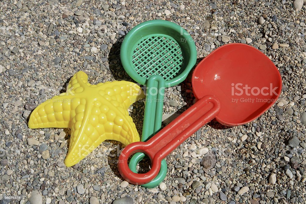 Beach toys royalty-free stock photo