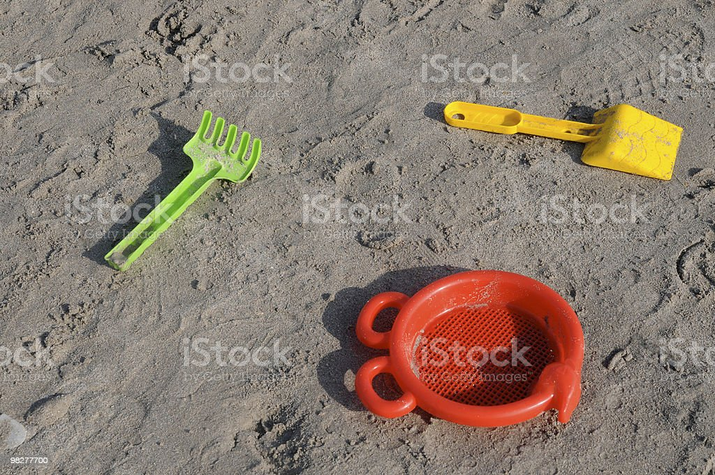 beach toys royalty-free stock photo
