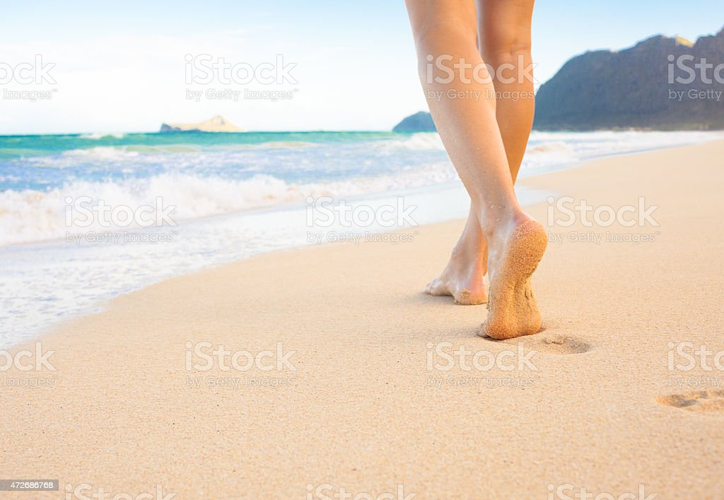 Beach travel stock photo