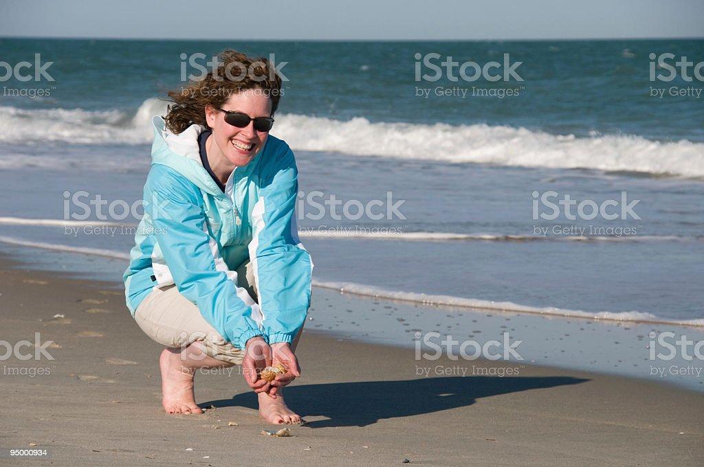 Beach Treasure stock photo