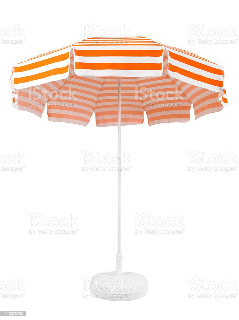 Beach Umbrella (Click for more) royalty-free stock photo