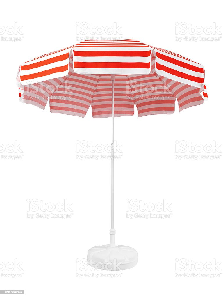 Beach Umbrella (Click for more) stock photo