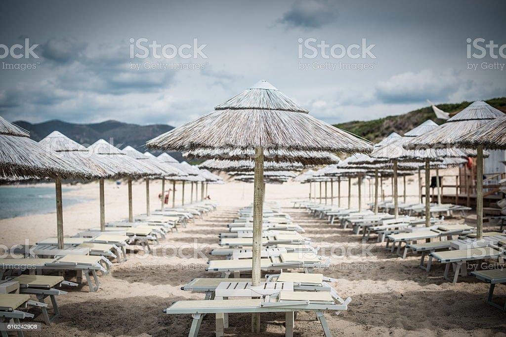 Ombrellone da Spiaggia stock photo