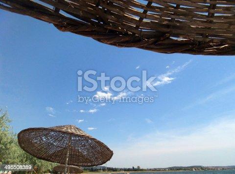 istock beach umbrellas 495508389
