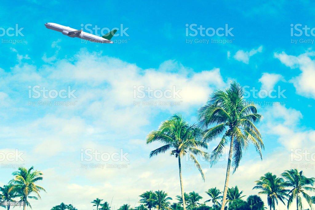 Beach Vacation Destination Florida stock photo