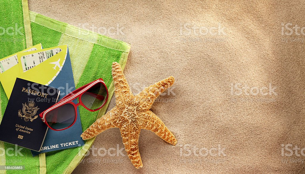 Beach Vacation royalty-free stock photo