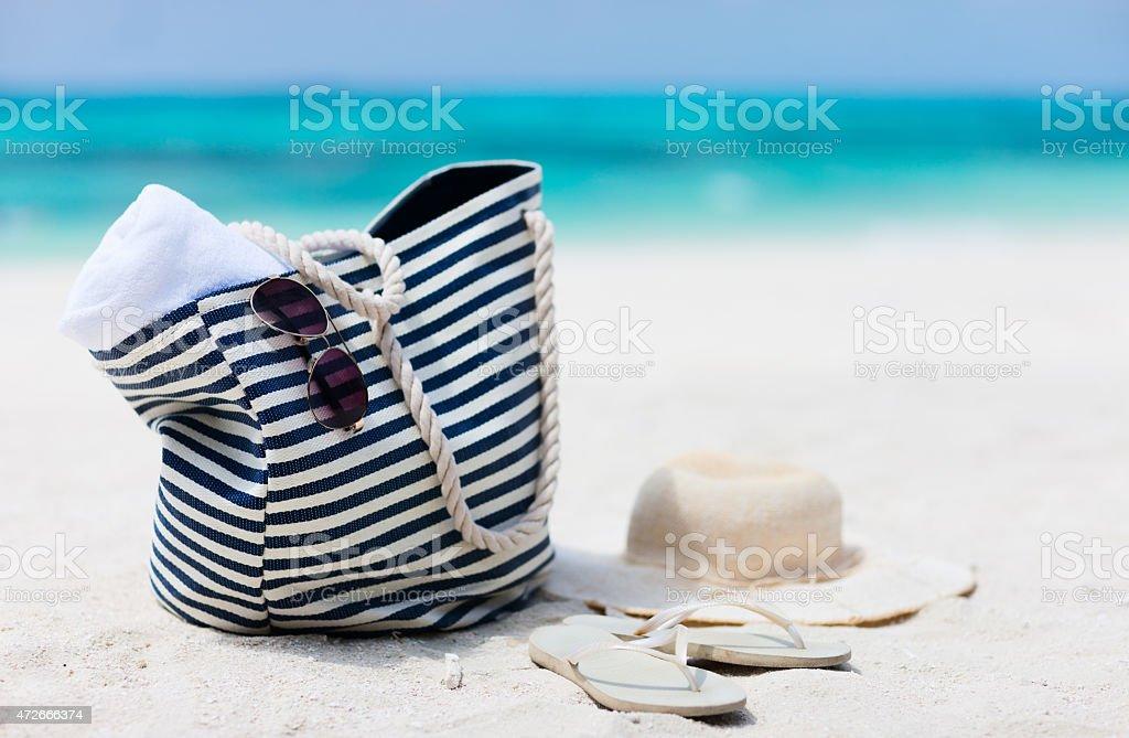 Férias na praia - foto de acervo