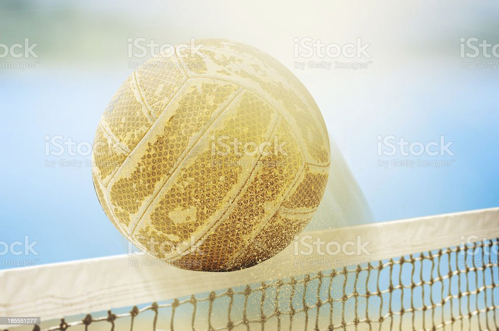 Beach volley royalty-free stock photo