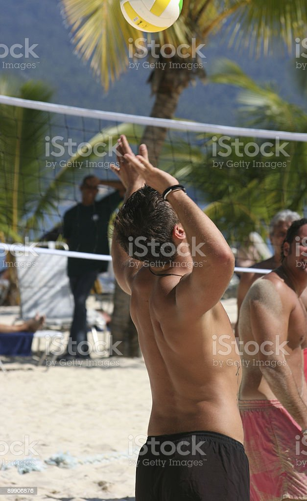 Beach Volleyball 02 royalty-free stock photo