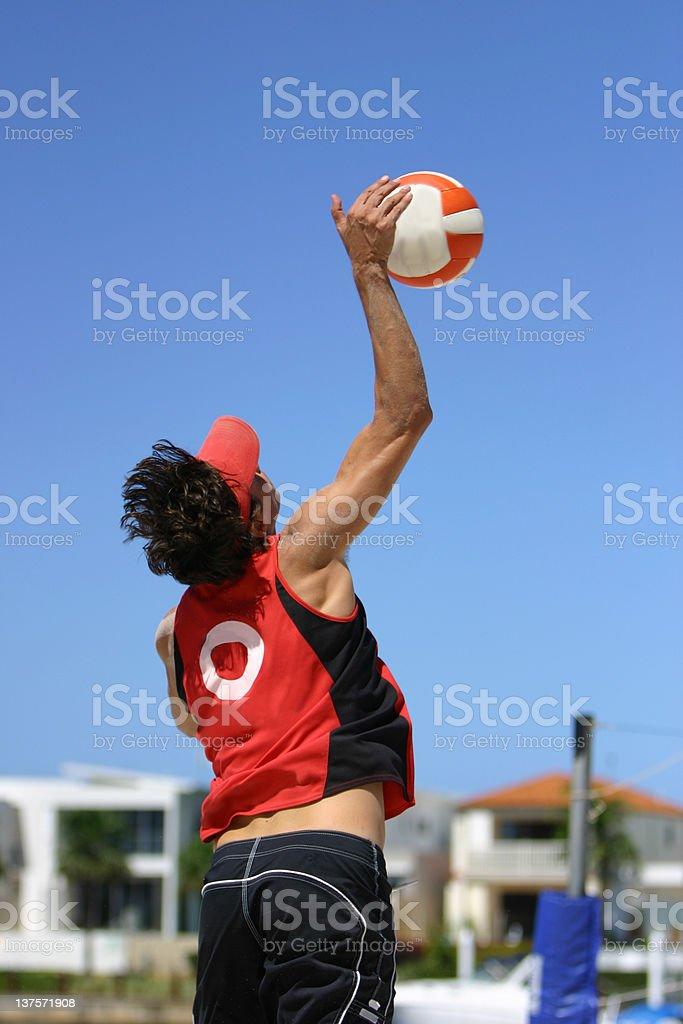 Beach Volleyball 2 stock photo