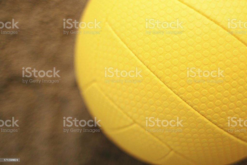 Beach Volleyball Background Horizontal royalty-free stock photo