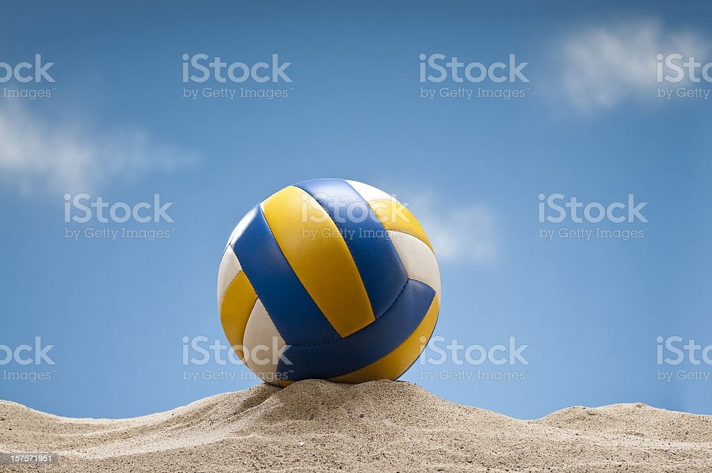 Beach volley sur le sable - Photo