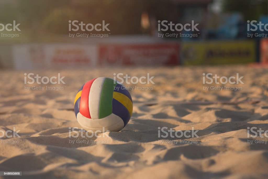 beachvolleybal​​​ foto