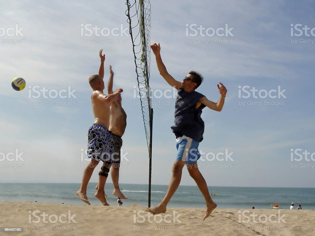 Beach Volleyball - Royalty-free Adult Stock Photo