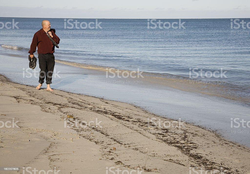 Beach Walk Lizenzfreies stock-foto