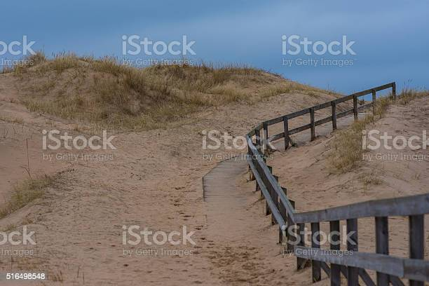Beach Walkpath Stock Photo - Download Image Now