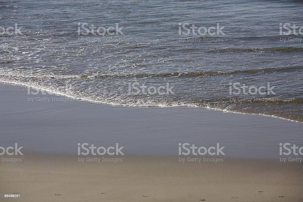 Plaża Wash zbiór zdjęć royalty-free