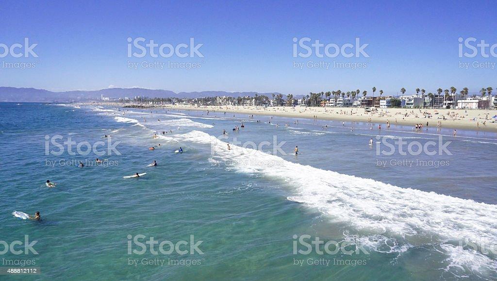 ビーチの波 ロイヤリティフリーストックフォト