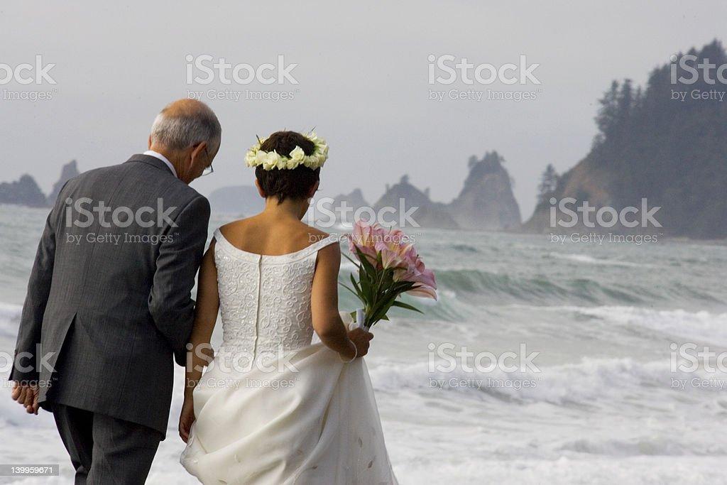 Beach Wedding 3 royalty-free stock photo