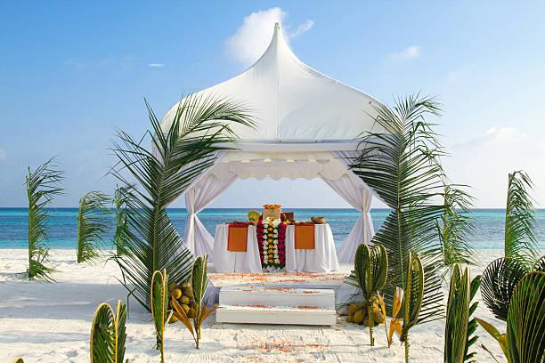 Beach Wedding Pavilion by the Ocean