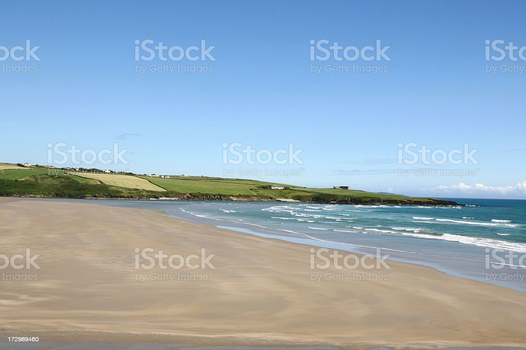 Beach West Coast of Ireland, Inchydoney Island, Co Cork stock photo
