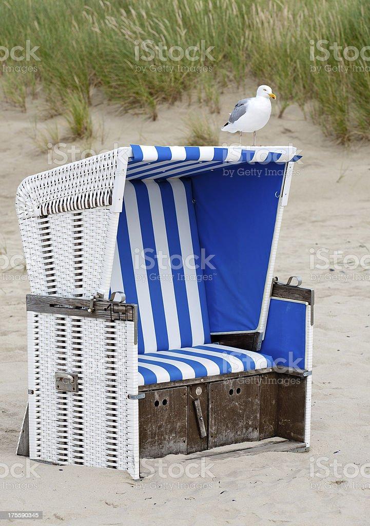 Beachchair stock photo