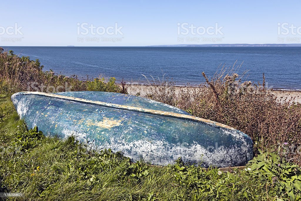 Beached Dory royalty-free stock photo