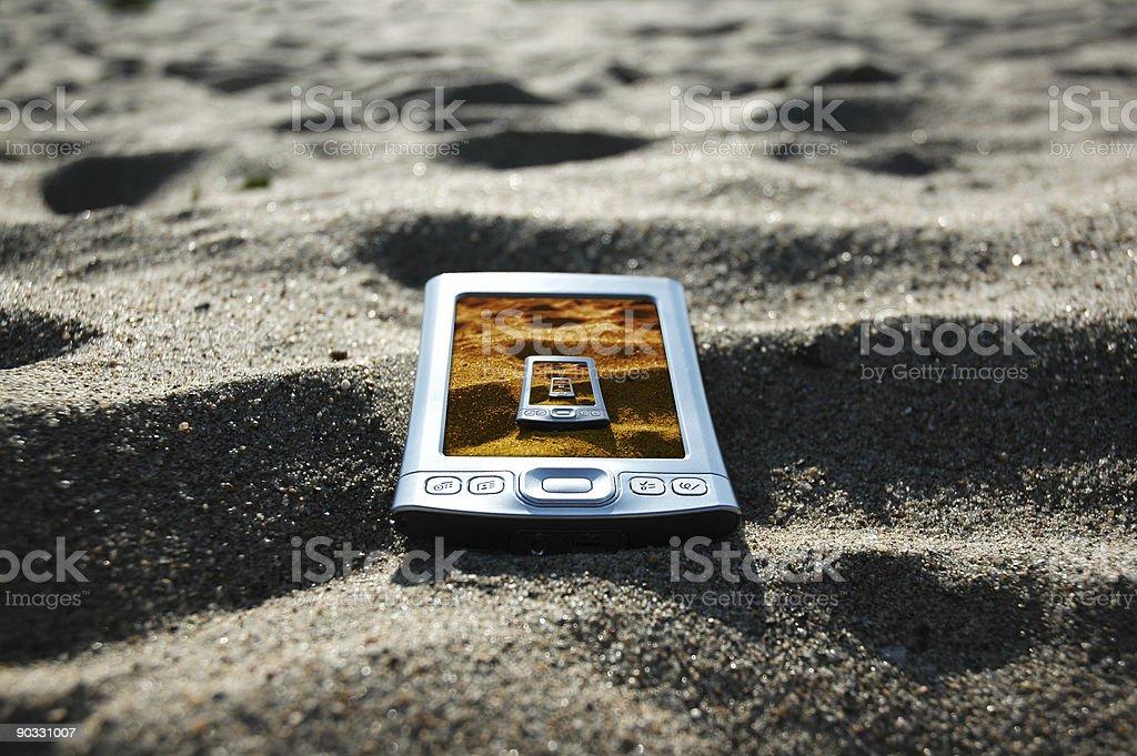 beached pda12b royalty-free stock photo