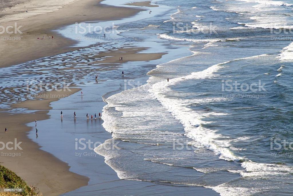 Beaches Near Long Beach Washington royalty-free stock photo