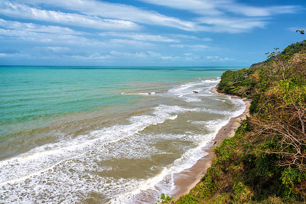 Beaches Near Palomino Deserted beaches and coastline near Palomino, Colombia palomino stock pictures, royalty-free photos & images