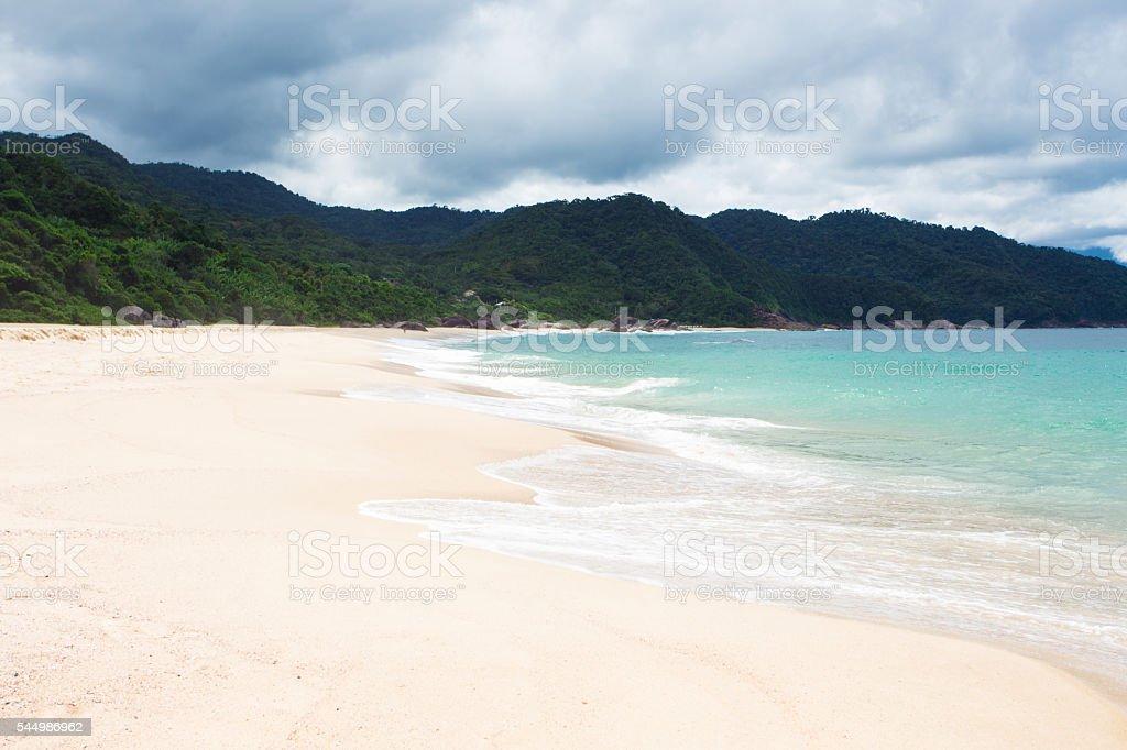 beaches of Brazil stock photo