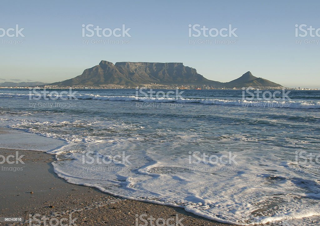 Beaches of The Western Cape royalty-free stock photo