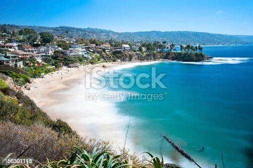 istock Beachfront cove 156301118
