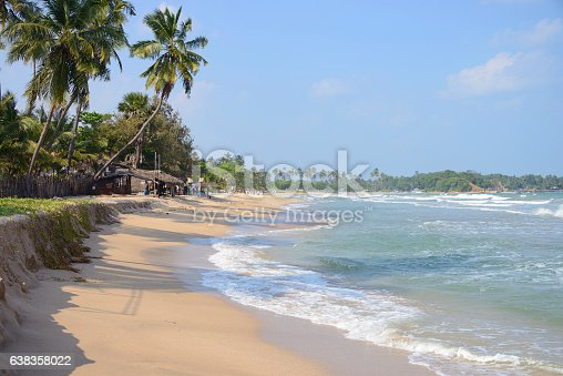 istock Beachfront in Uppuveli, Sri Lanka 638358022