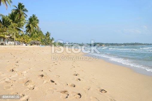 istock Beachfront in Uppuveli, Sri Lanka 638358220