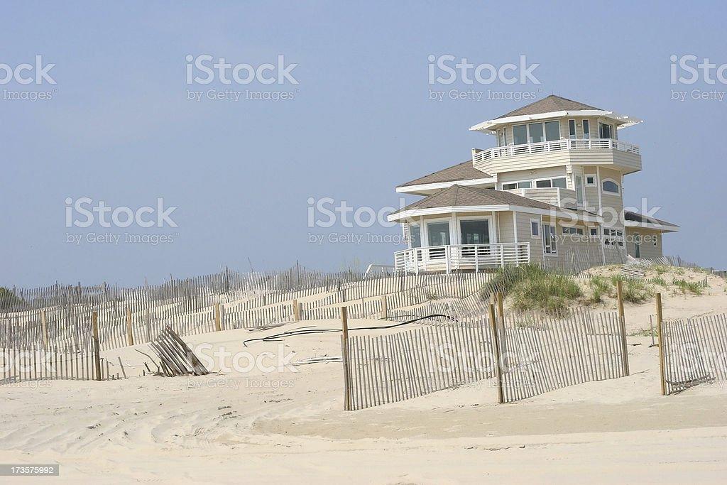 Beachfront Property 2 stock photo
