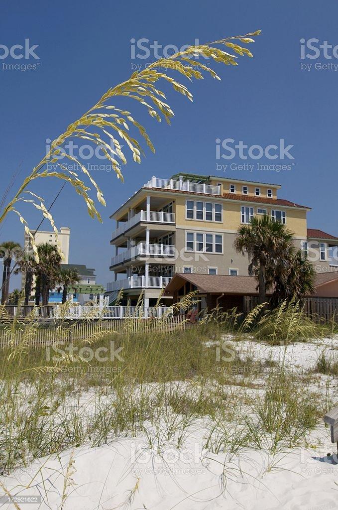Beachfront Property stock photo
