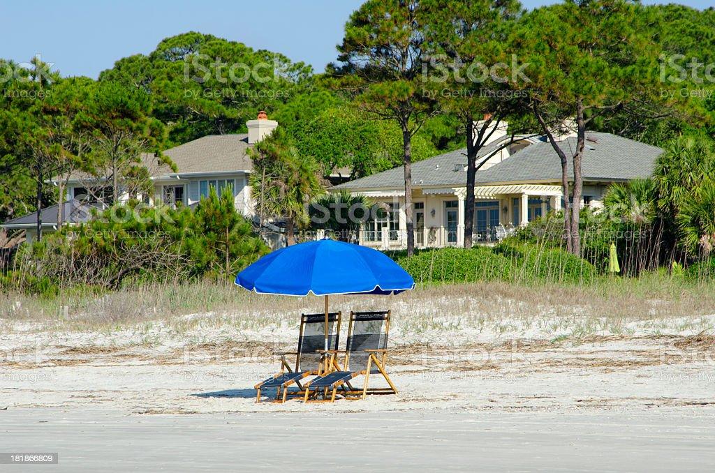 Beachfront Property royalty-free stock photo