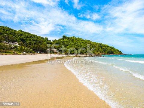 istock Beachfront scene in Ko Samet in Rayong, Thailand 586934264