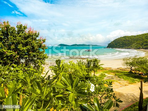 istock Beachfront scene in Ko Samet in Rayong, Thailand 586934360