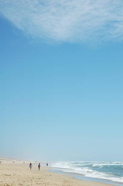 Beachscene stock photo